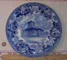 Wedgwood Kings Chapel Boston Souvenir Plate 1897 Transferware