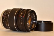Lentar 135mm f2.8 camera lens M42 screw mount, 8-blade preset ap