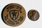 1970s Wooden Nickel Army 503rd Aviation Battalion CBT Germany