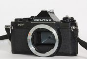 Pentax MV 35mm SLR Film Camera Black Body, works fine