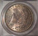1900-O Morgan Silver Dollar graded MS65 by PCGS, nice toning