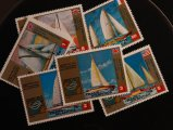 Equatorial Guinea 1973 Trans Atlantic Race Yachts stamps CTO NH