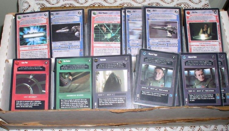 1,100+ Star Wars CCG Cards Premier Collection by Decipher - Click Image to Close