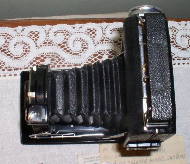 1946 Kodak Junior Vigilant Six-20 with Bimat Lens, box, manual - Click Image to Close