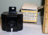 Kodak Baby Brownie Camera with box and directions