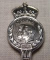 1939 Gorham Canada Royal Visit Spoon, King George VI, Elizabeth