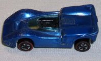 Hot Wheels Redline 1968 Blue MCLAREN M6A