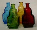 Wheaton Glass King's Patent Balsam of Life Mini Medicine Bottles