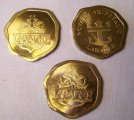 3 Royal Caribbean Labadee cruise ship Gambling Tokens Souvenir