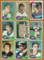 Lot Topps California Angels baseball cards 1979, 1980, and 1982