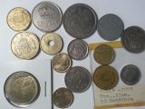 Spain Coin Lot, 1945 to 1998 including 1988 500 Pesetas