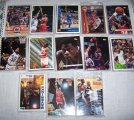 Mixed lot 250 Basketball Cards 1991-1995 Shaquille Hardaway
