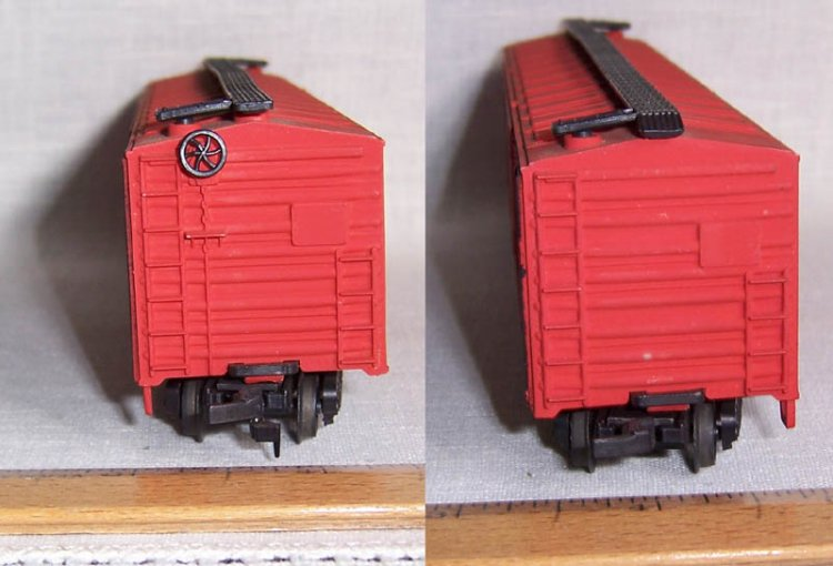 AHM Train Boxcar CP Rail 51031 HO Scale Model Railroad - Click Image to Close
