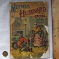 1890 McLoughlin Mother Hubbard and Her Dog Linen Children's Book