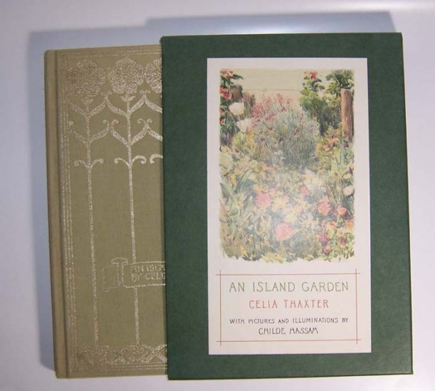 An Island Garden Celia L. Thaxter 1988 Hardcover with slipcase - Click Image to Close