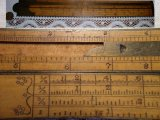 Antique Stanley Rule Level Co. No. 15 Carpenter's Gunter's scale