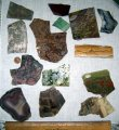 2.5 lbs - 14 Different Lapidary Stone Mineral Specimens Slabs
