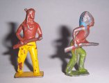 Old Britains Cast Metal Indians, England