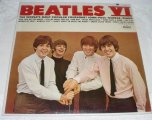 "1965 Beatles VI T2358 Album 1st Back ""See Label..."" ASCAP Error"