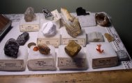 15 mineral specimens from estate collection, Grieger's