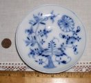 Antique Meissen Blue Onion 5-inch Saucer
