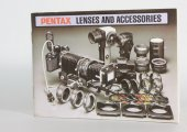 Pentax Lenses and Accessories 1981 catalog- lens data