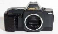 Canon T70 35mm film camera with suto rewind, advance, metering