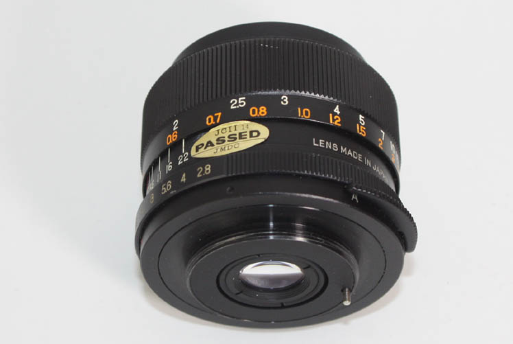 Accura Diamatic 35mm F2.8 Prime Lens w/ M42 42mm screw mount - Click Image to Close