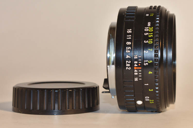 Sears Auto 50mm F2.0 for Pentax K PK Mount Prime Lens - Click Image to Close