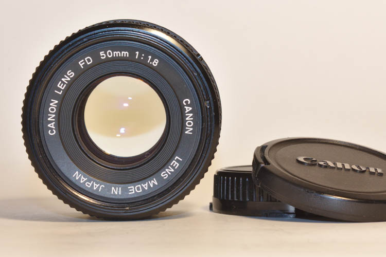 Canon FD 50mm F1.8 Prime Lens For AE-1 DSLR Mirrorless - Click Image to Close