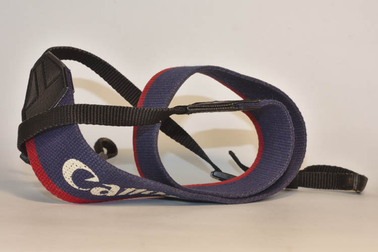 Vintage Canvas Canon EOS Camera Strap - Click Image to Close