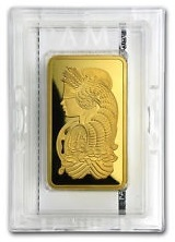 cerified gold bar