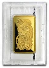 certified gold bar