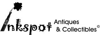 inkspot antiques store logo